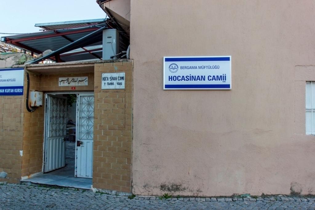HOCA SİNAN MESCİDİ - BERGAMA / İZMİR